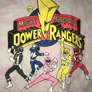 Forever 21 Tops - Pink POWERRANGER Cropped Top! Woman's Size Medium!